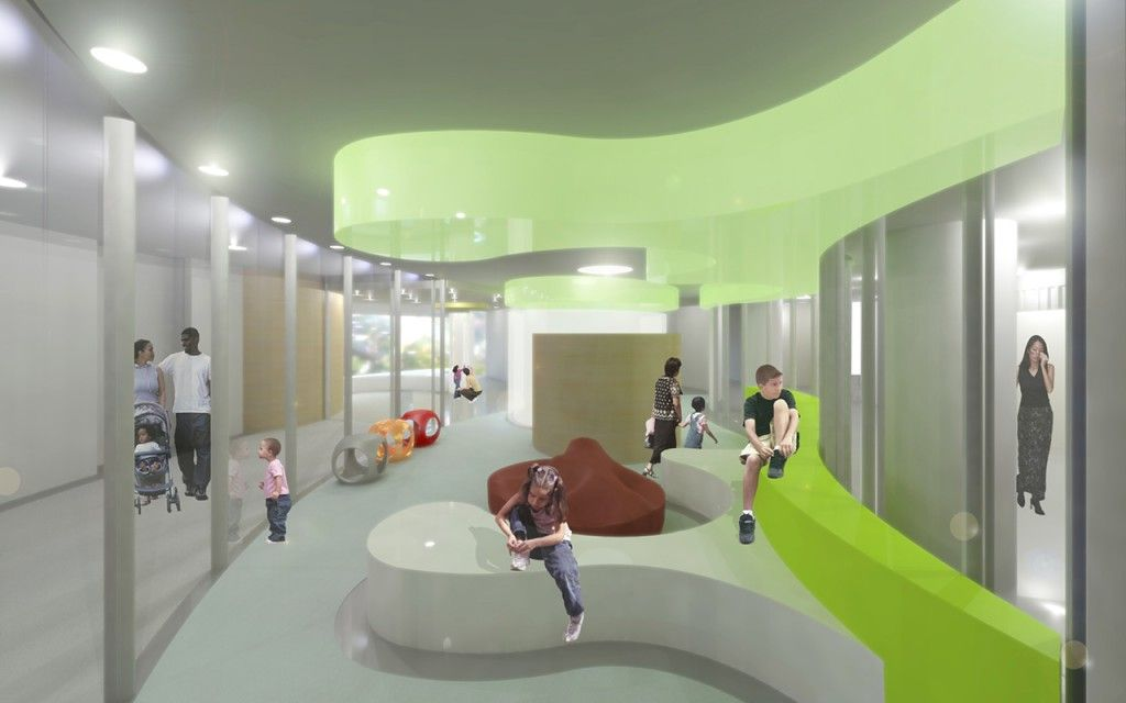 University Of Iowa Childrens Hospital USA Foster Partners Interior