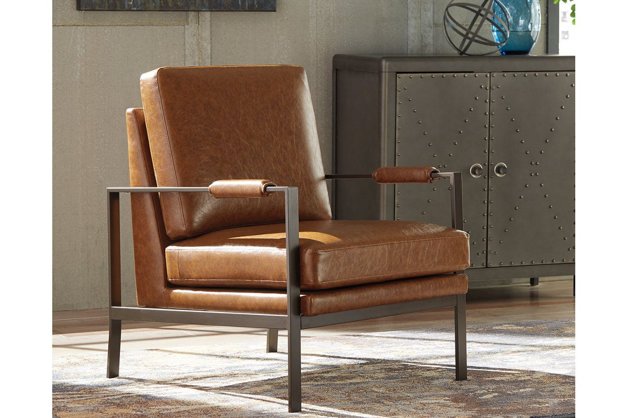 Peacemaker Accent Chair Brown Products In 2019 Ashley Furniture Chairs Brown Accent Chair Accent Chairs