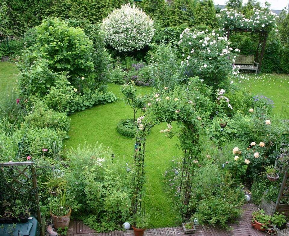 Anlage Reihenhausgarten Garden Pinterest Gardens, Garden ideas