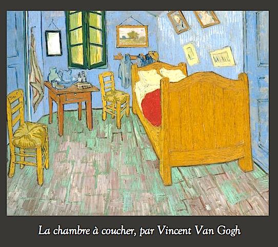 Vincent Van Gogh (1853-1890) La chambre à coucher de Van Gogh à ...