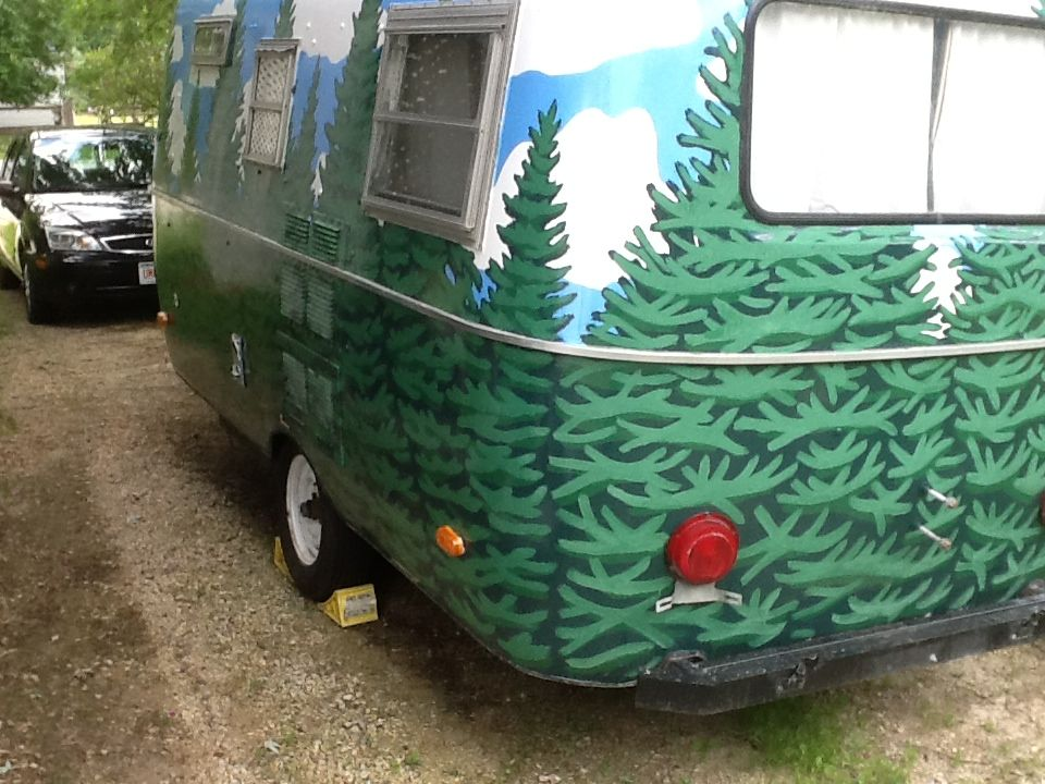 Paint Jobs Real And Imagined Page 13 Fiberglass Rv Mom 39 S Camper Pinterest Rv Vintage