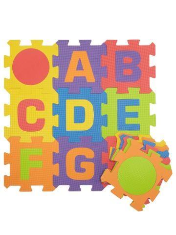 Buy John Lewis Foam Jigsaw Alphabet Play Mat, Large   John ...