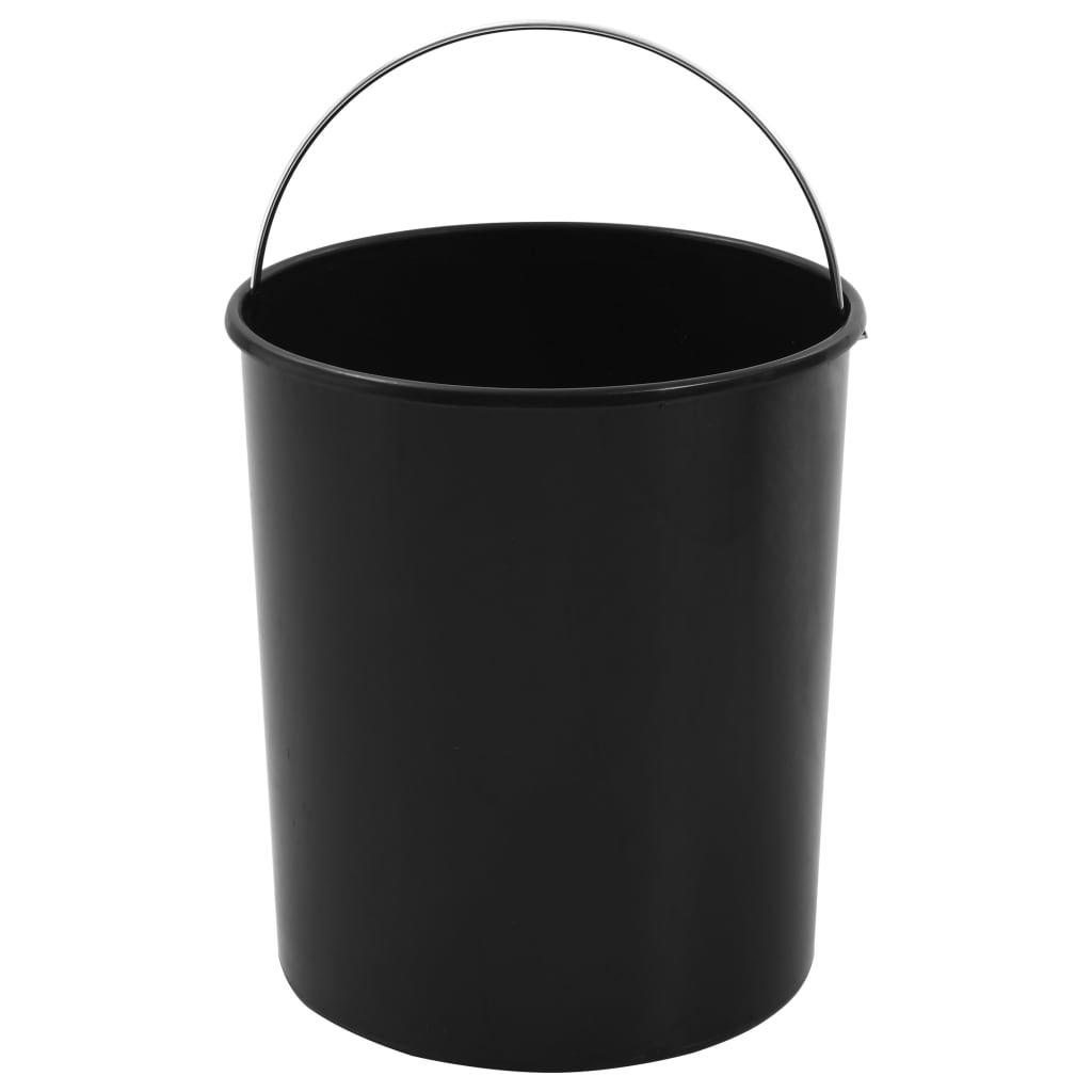 Built-in kitchen dustbin 12 L plastic