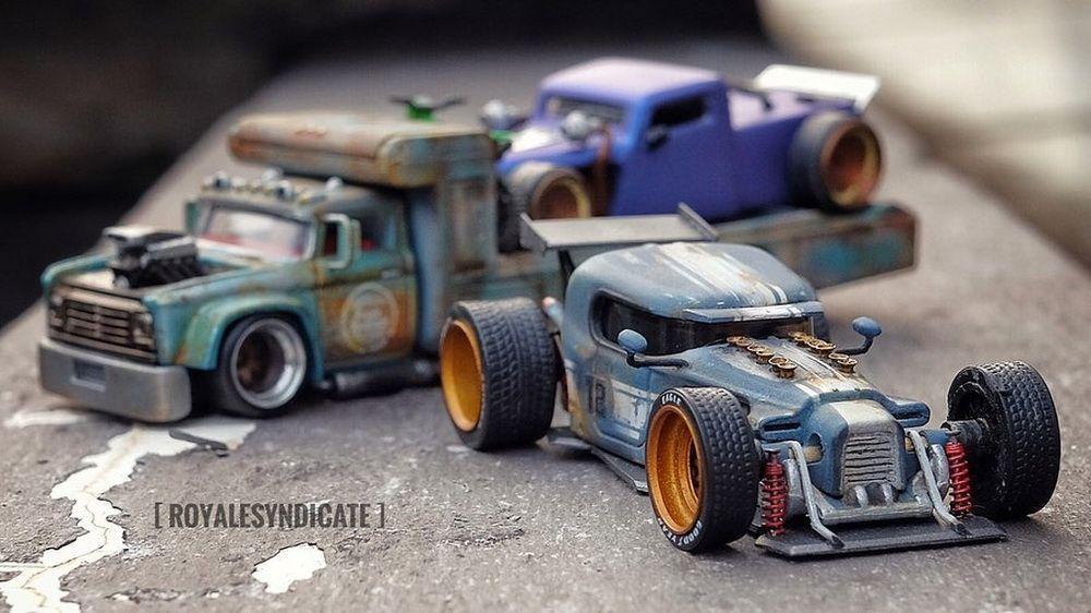 custom hot wheels derby cars