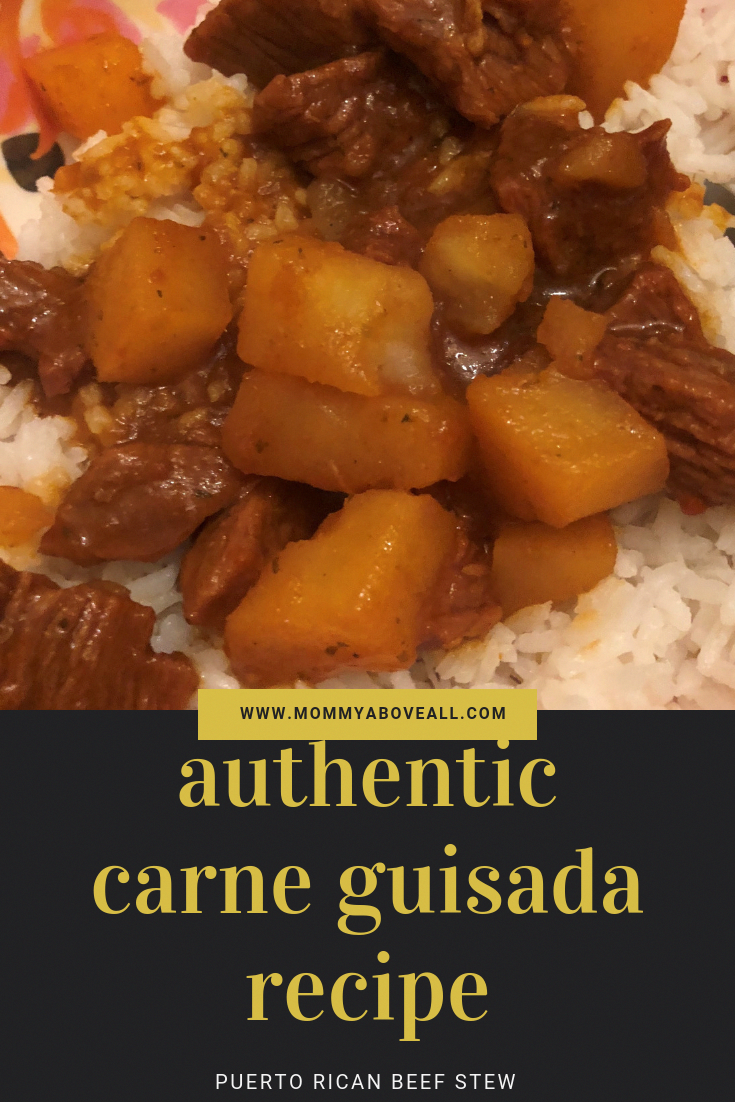 Authentic Carne Guisada (Puerto Rican Beef Stew) Recipe