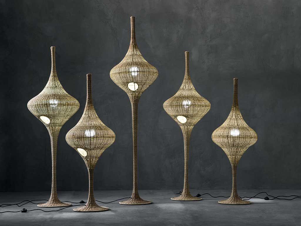 Plafoniere Vimini : Vimini midollino e rattan per loutdoor lights pinterest
