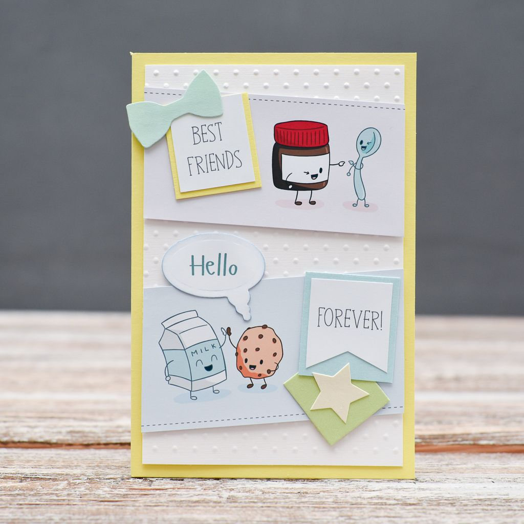 Funny Greeting Card For Special Friend Bestfriend Forever