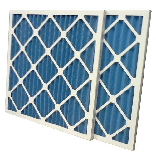 Nordic Pure 12x12x1 MERV 8 Pure Carbon Pleated Odor Reduction AC Furnace Air Filters 2 Pack
