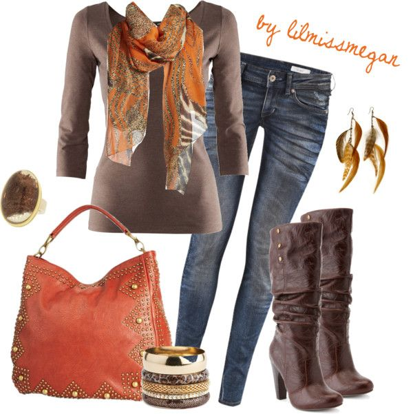 """""""Colors of Autumn"""" by lilmissmegan on Polyvore"""