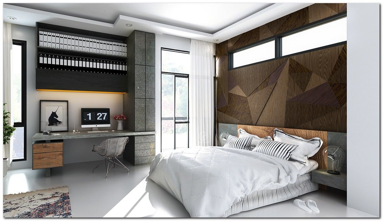 90 Industrial Chic Bedroom Designs You
