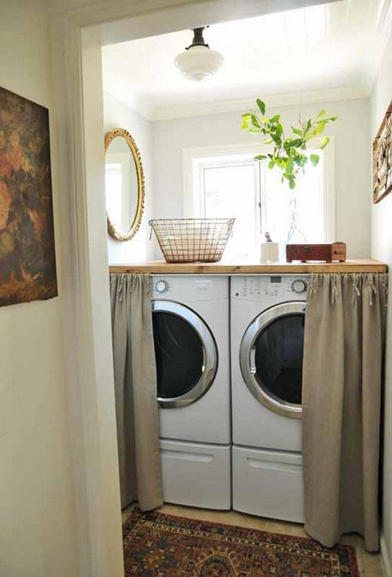 35 smart small laundry room decorating ideas on effectively laundry room decoration ideas easy ideas to inspire you id=16078