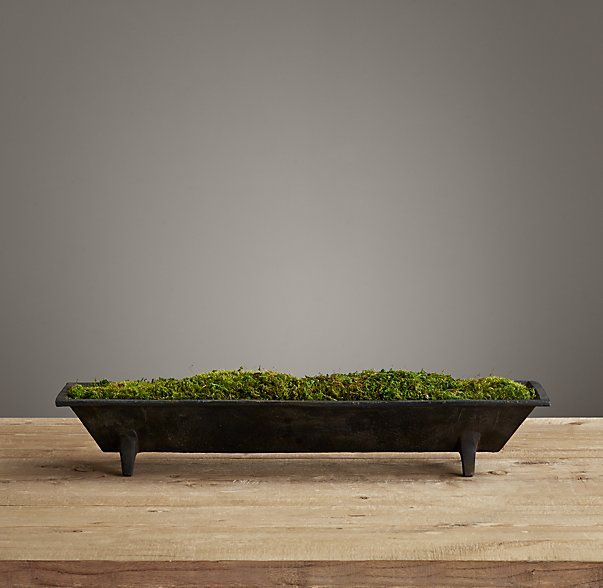 Vintage American Trough Small Restoration Hardware