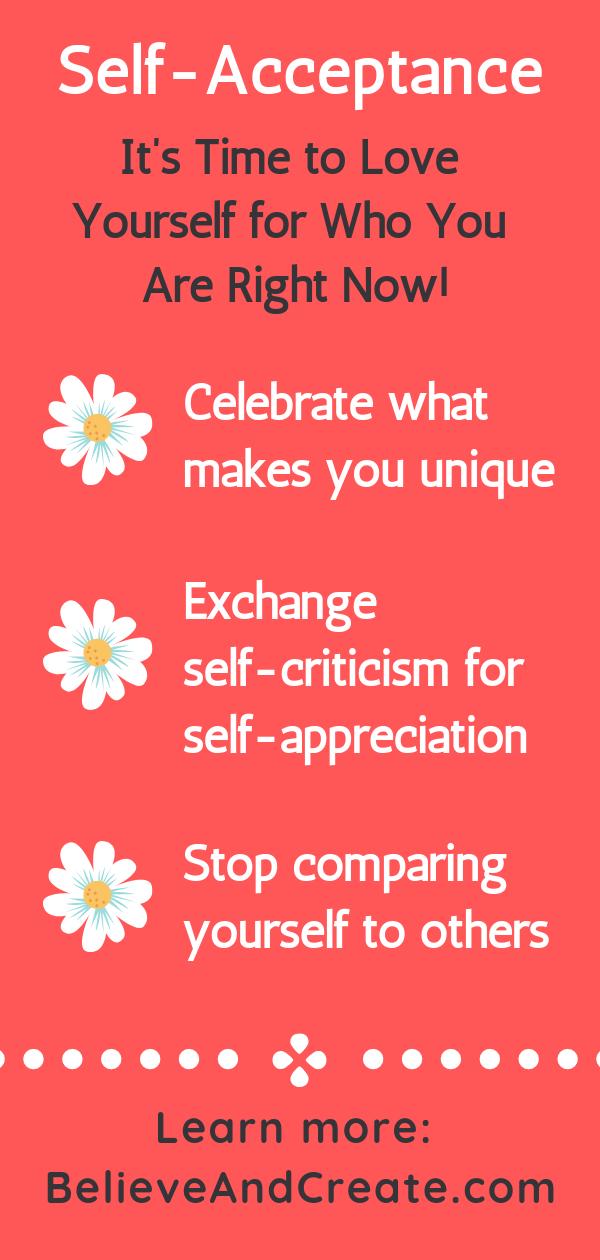Selbstakzeptanz: Wie man anfängt, sich selbst für das zu lieben, was man gerade ist   – Pin Everything!