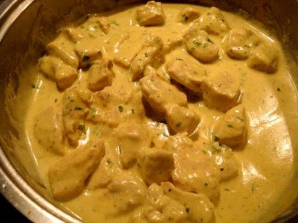 Κοτόπουλο+με+κρέμα+γάλακτος+,μουστάρδα+και+κάρυ