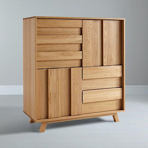 Bethan Gray For John Lewis Noah 3 Door 2 Drawer Cupboard