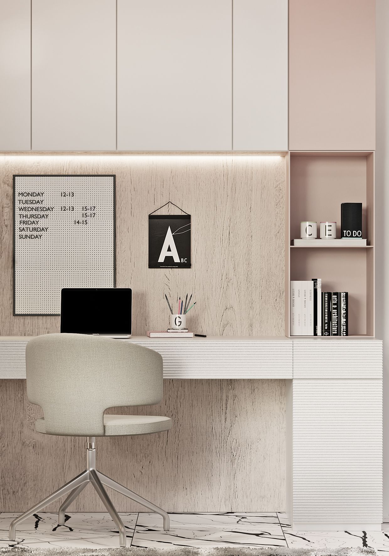 5 Modern Home Office Ideas | Small spaces, Desks and Spaces