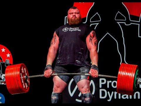 Eddie Hall 500kg Deadlift World Record Youtube Eddie Hall