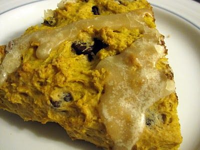 Chocolate Chip Pumpkin Scones - popular at my house.  Simple to make.