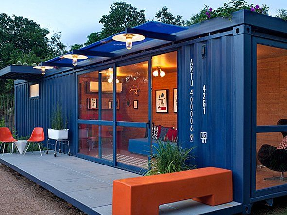 shipping container conversion images | looks-like-a-nice-patio-for