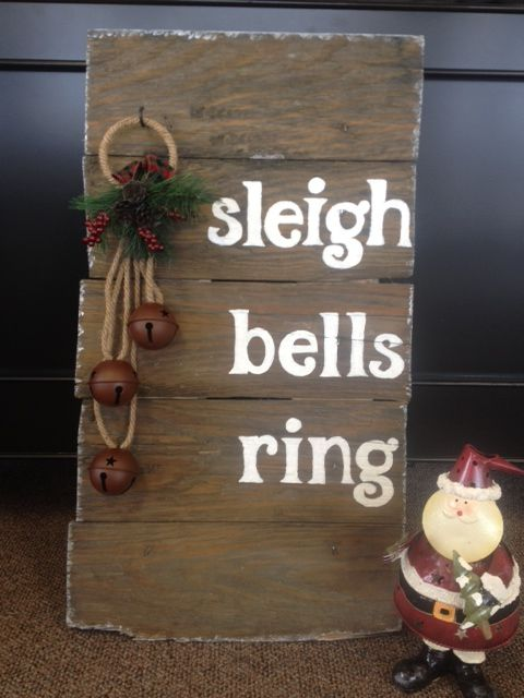 a rustic sign I had seen...here's my re-creation