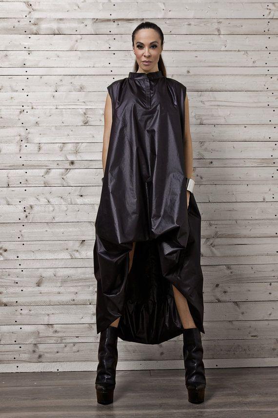 Maxi Dress / Plus Size Dress / Kaftan / Sleeveless by Metamorphoza