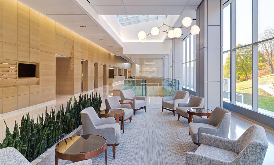 Memorial sloan kettering cancer center west harrison contract magazine · commercial carpetcommercial flooringarch interiorinterior designoffice