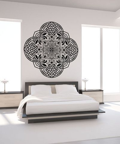Vinyl Wall Decal Sticker Abstract Moroccan Art #OS_MB969 | Stickerbrand wall art decals, wall graphics and wall murals.