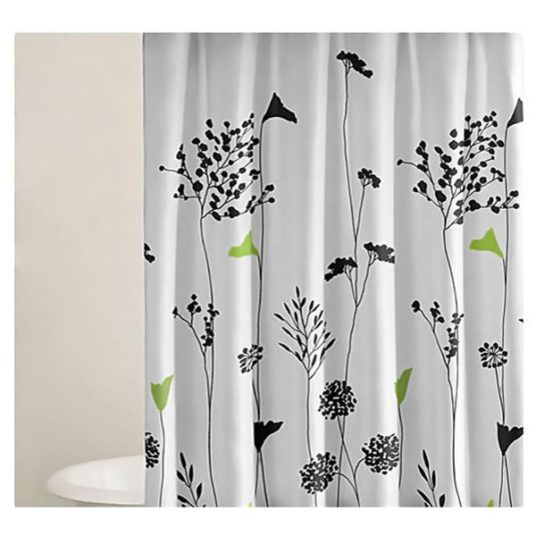 Perry Ellis Asian Lilly Shower Curtain - Overstock™ Shopping ...