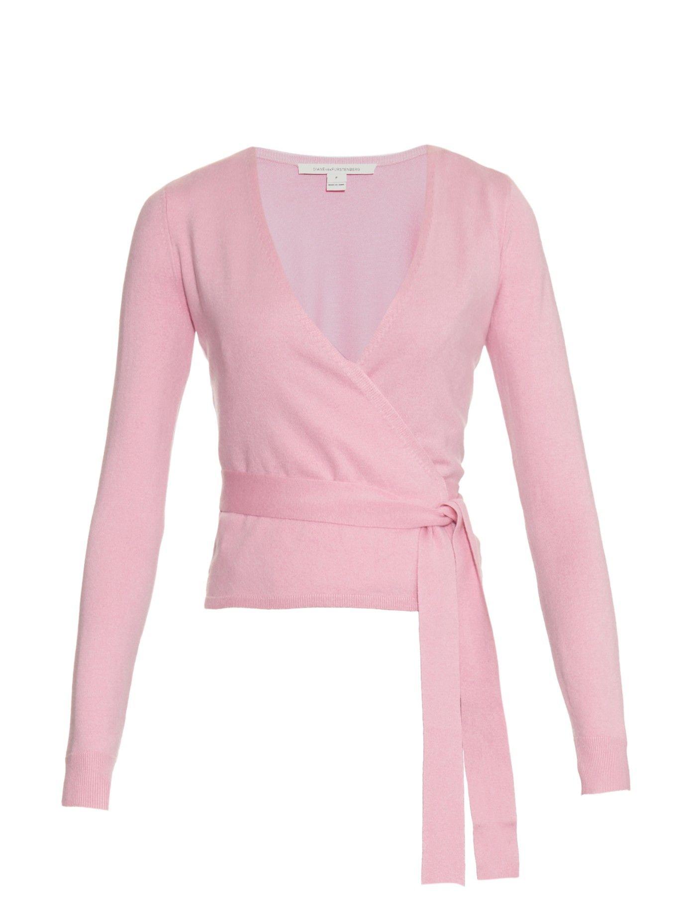 a8ba09b75 Ballerina wrap cardigan | Diane Von Furstenberg | MATCHESFASHION.COM ...