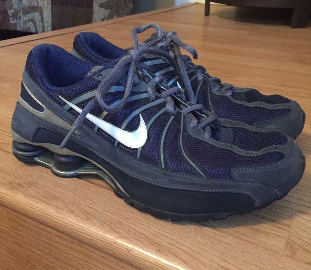 Nike Shox Turbo VII Navy Blue Size 7 Youth