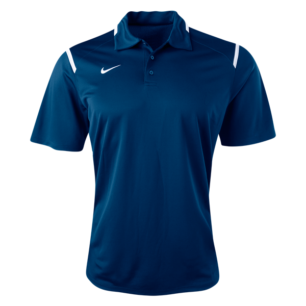Look sharp on match day with Nike. DriFIT polo
