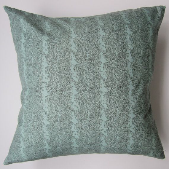 Pillow Cover Green Amp Grey Designer Print Fits By