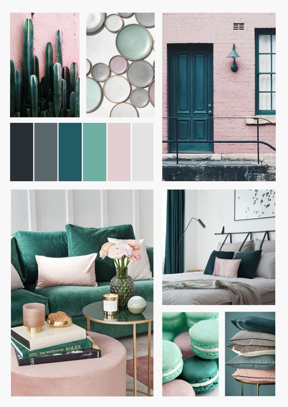 Apartment series Colour Scheme Inspiration Design your