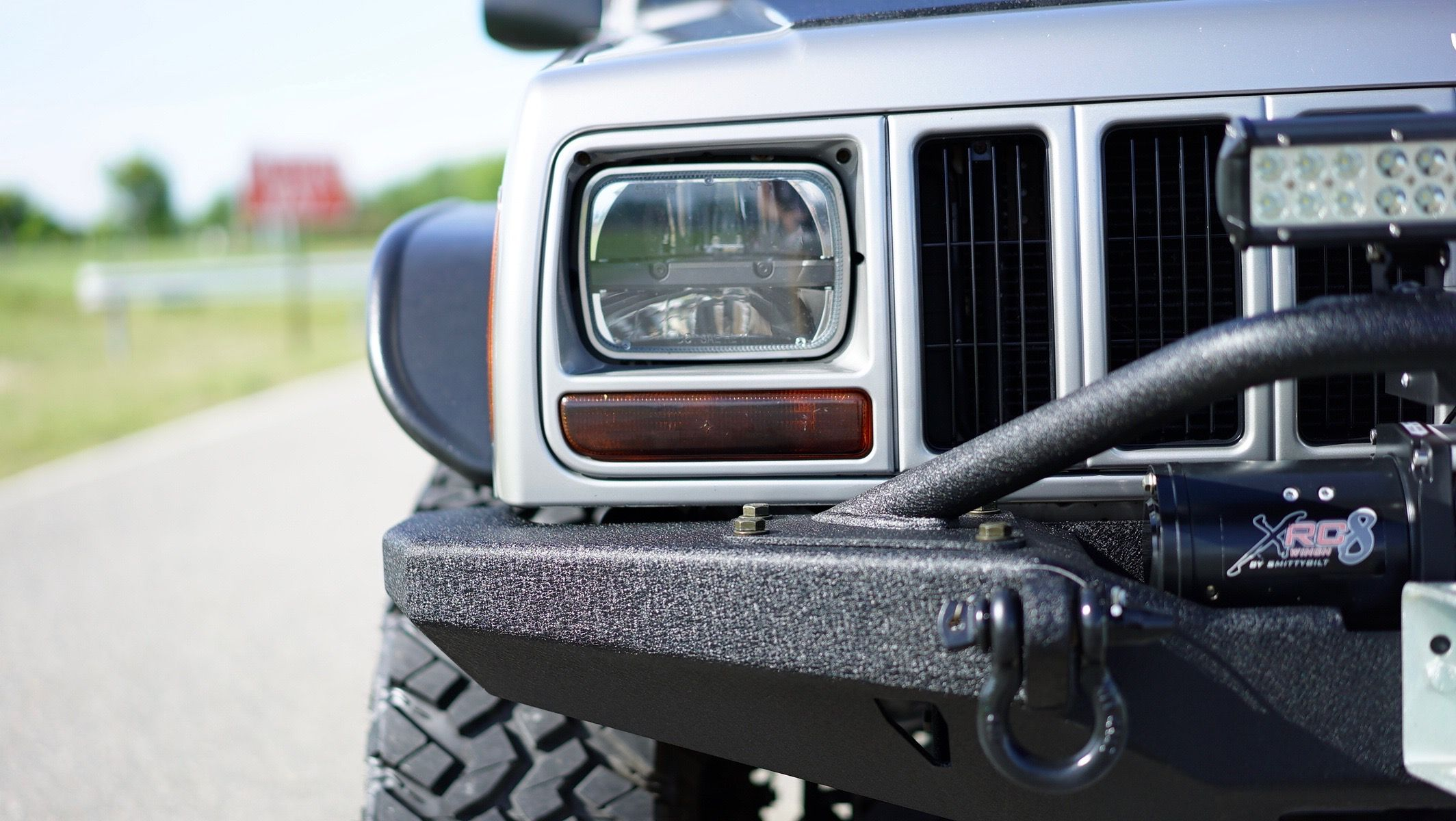 Jeep Cherokee XJ For Sale Gray — Davis Autosports in