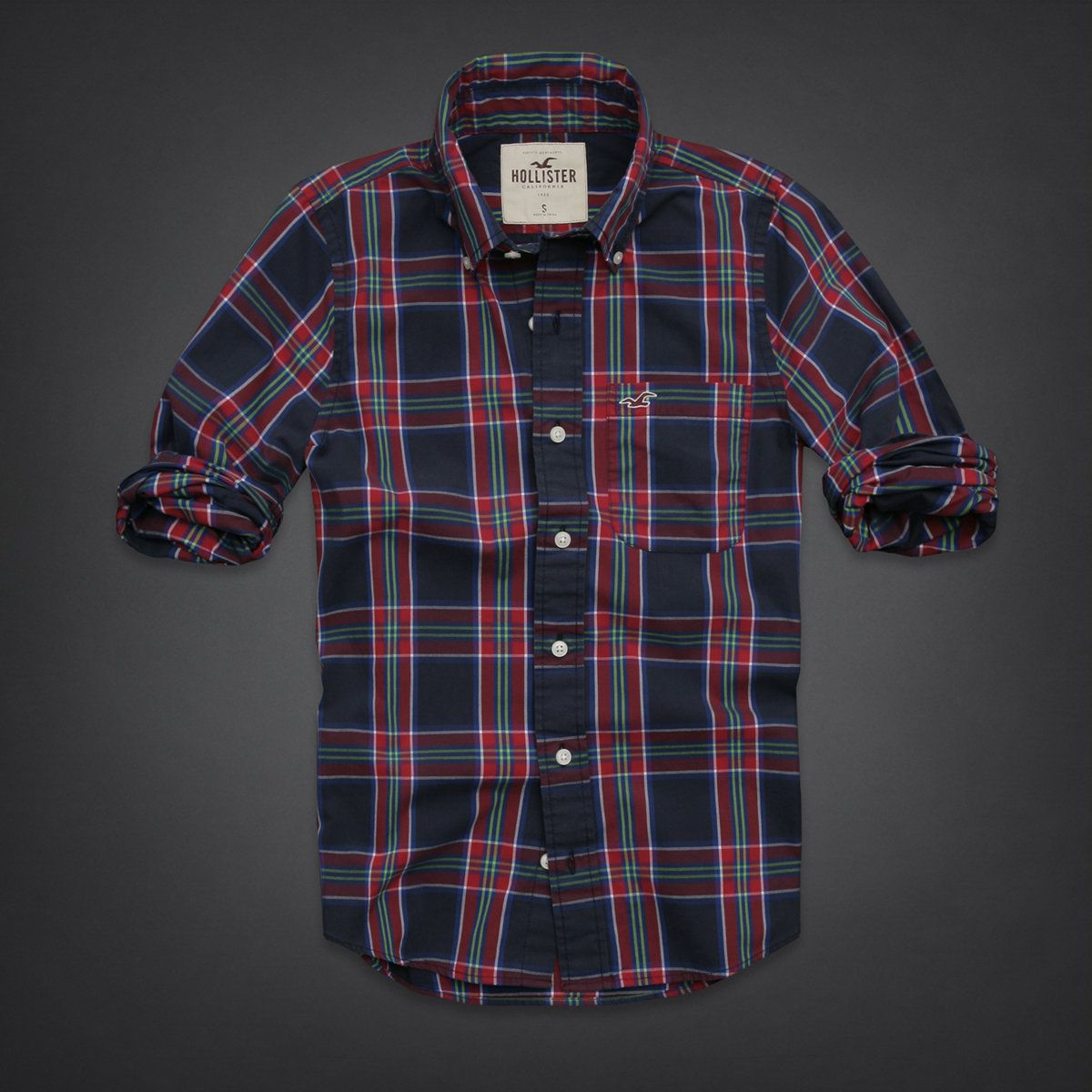Purple flannel men  Blusas Hollister  R  Para comprar abravaneltravel