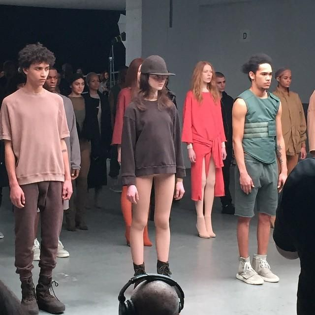 Here S What Went Down At The Kanye West X Adidas Fashion Show