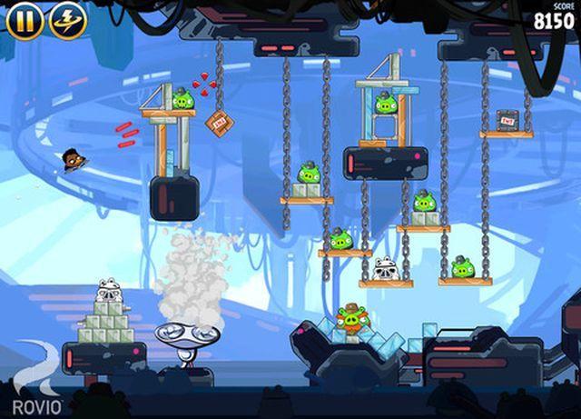 Angry Birds Star Wars, el juego de Rovio gratis por tiempo ilimitado