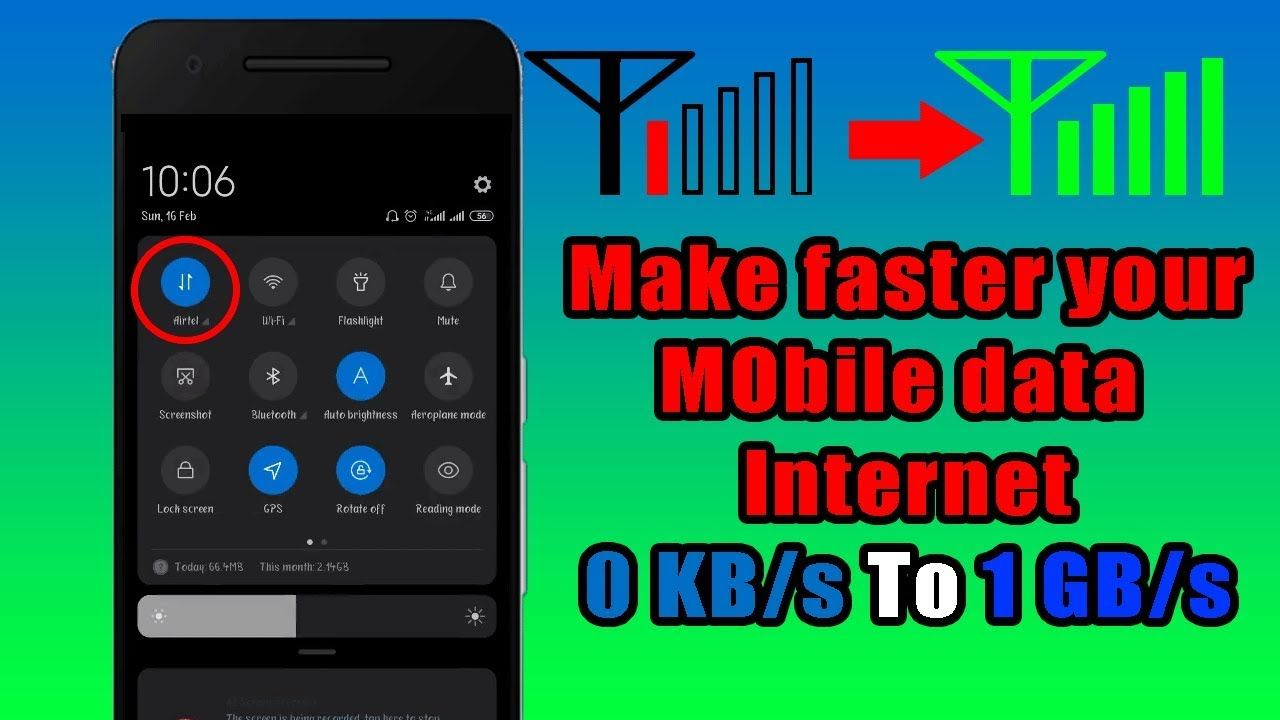 How To Get Better Internet Connection On My Phone