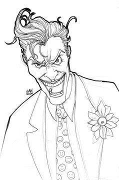 Super Hero And Villains Coloring Pages