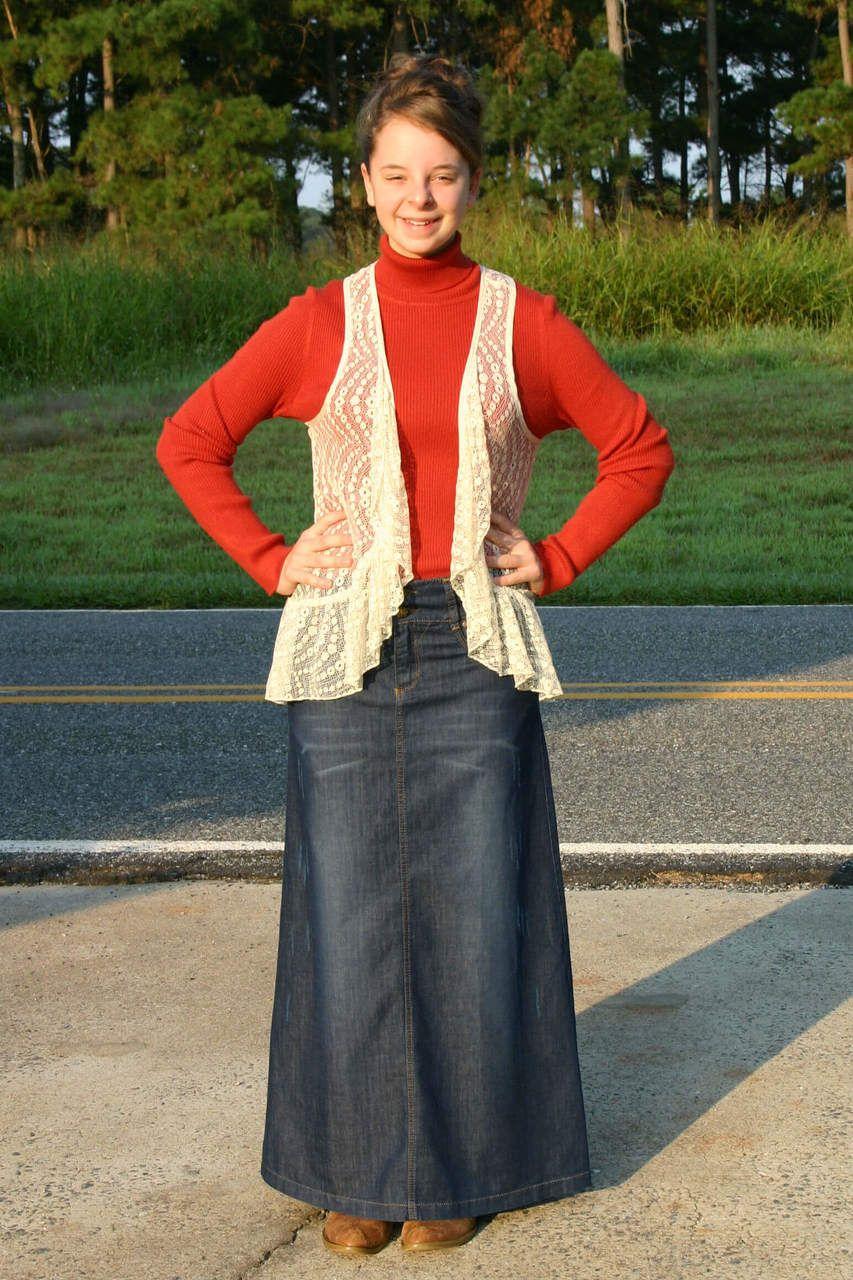 dd643aca09 Every day everyway Jean Skirt, www.madisonandmoriah.com, long modest,  tzniut, apostolic, pentecostal, hijab, denim, blue, small, medium, large,  women's.