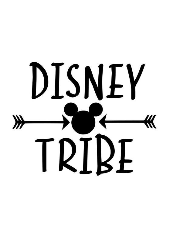 Disney Tribe Svg Disney Svg Disney Family Shirts Disney Shirts Mickey Mouse Svg Mickey Ear Disney Silhouettes Diy Disney Shirts Disney Trip Shirts