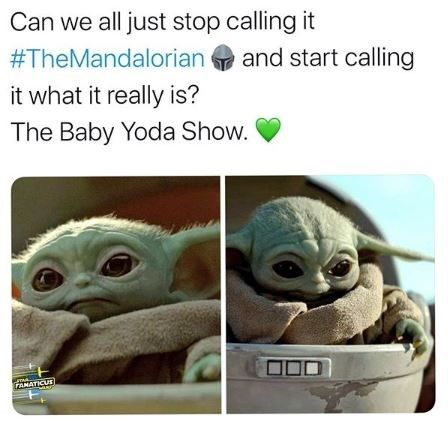 Cute Baby Yoda Memes Because The Internet Can't Even
