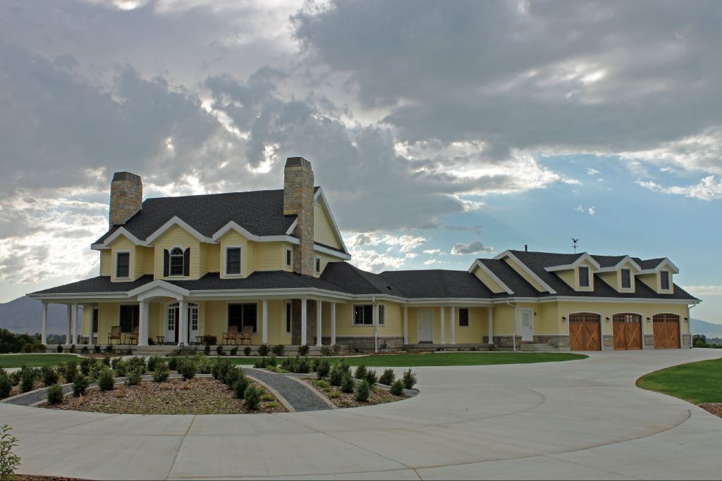 Pin By Krista Cornett On My Style My Dream Home American Houses Ranch Style Homes