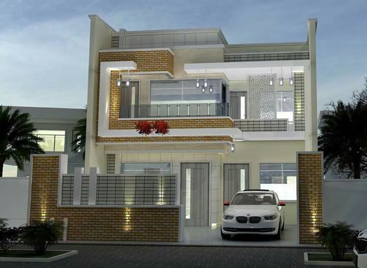 Kh house elevation dream plans modern design exterior also pin by khalid ali on sk in pinterest rh