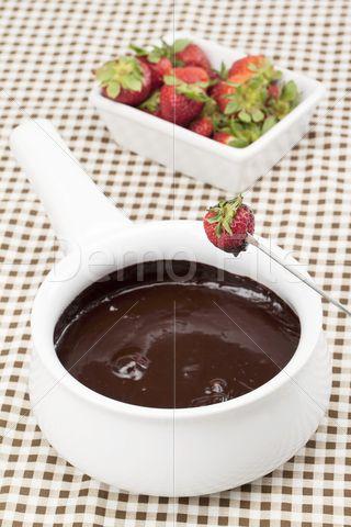 Strawberry Chocolate Fondue.