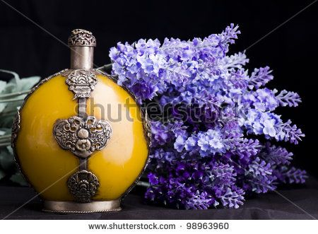 Stock Images similar to ID 68816524 - bottle of perfume on abstract...