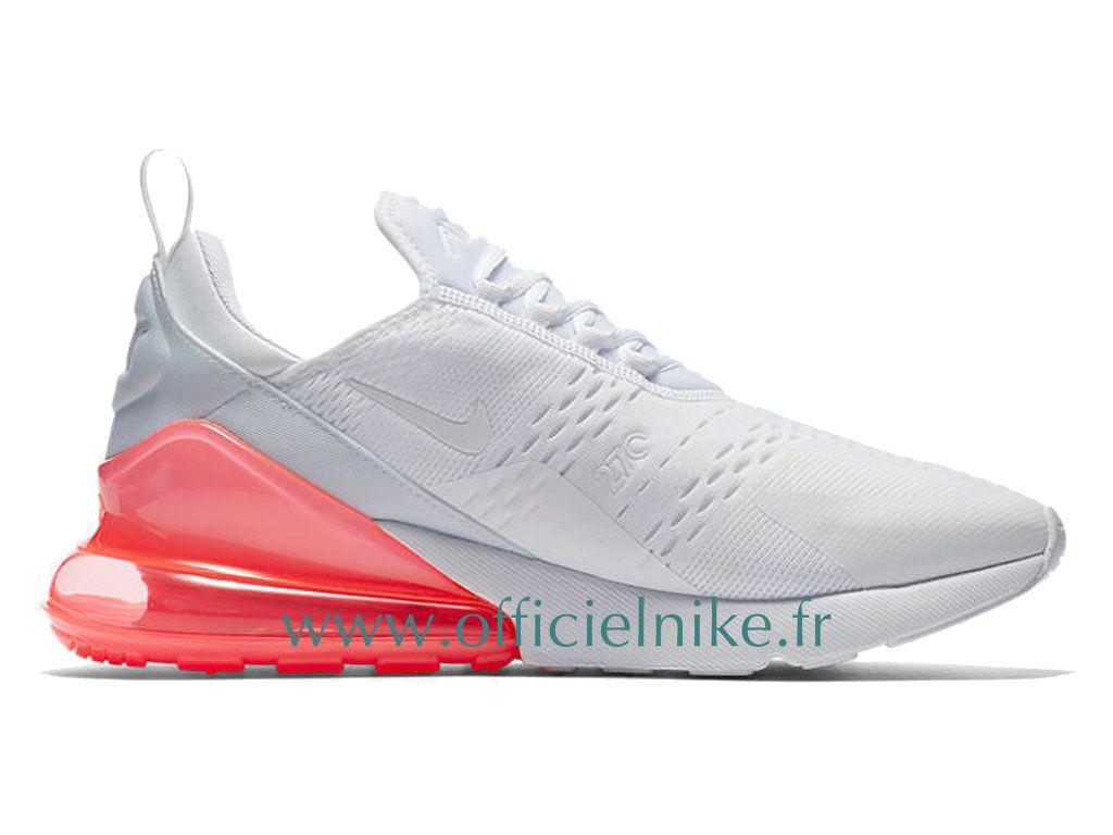 the best attitude 09ba9 795c7 Homme Chaussure Officiel Nike Air Max 270 Punch à Chaud Blanc AH8050-103