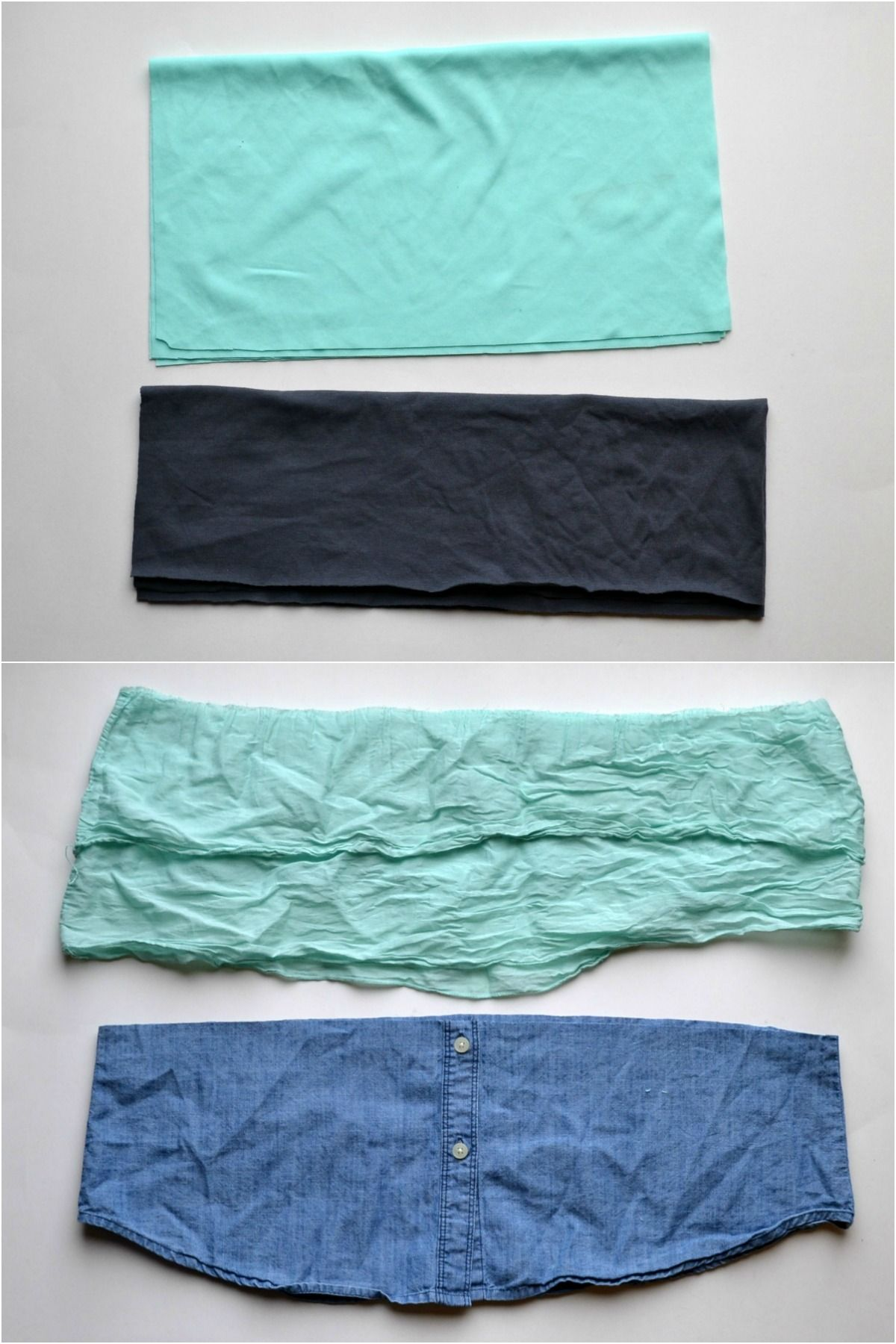 Tutorial // Belly Bands With Shirt Hems