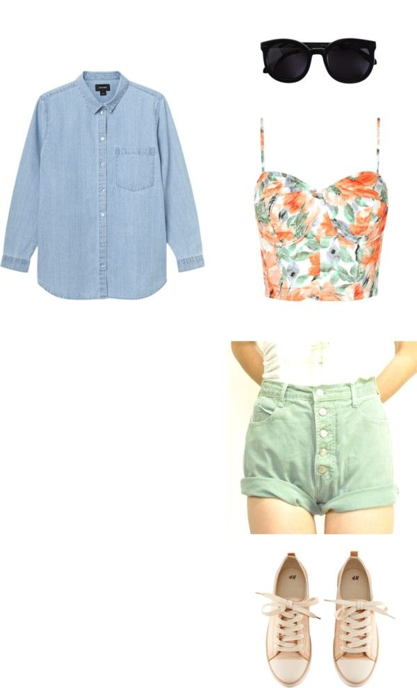 """""""Spring :)"""" by alyssa-hutch ❤ liked on Polyvore"""