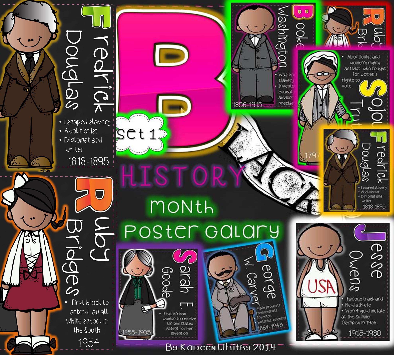 Black History Month Posters My Teacherspayteachers